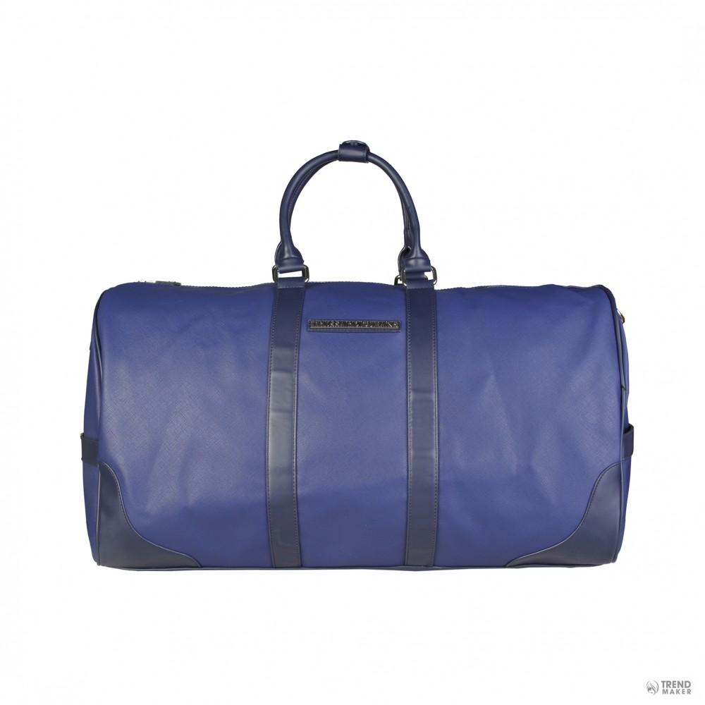6641217c1 Trussardi Unisex Pánska cestovná taška 71B993T_BLU | Zľavy Outlet